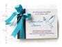 Foto-Gästebuch Taufe - 21cmx16cm, 20 Blatt weiß, Druck Wunschtext und Taufsymbol Taube mit Ölzweig auf dem Einband, in den Farben weiß, dunkelbraun und dunkeltürkis.