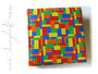 Fotoalbum mit Lizenzstoff Lego