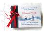 Foto-Gästebuch Taufe Leuchtturm Boot blau weiß rot