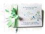 Gästebuch Taufe pastellgrün weiß hellgrün