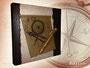 Maritimes Fotoalbum oder Gästebuch mit antikem Charakter