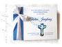 Foto-Gästebuch metallic-blau weiß selbst gestalten