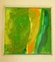 """Trio1"" 42cm x 42cm, Mischtechnik, Acryl, Öl-Pastellkreiden, verkauft"