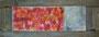 """Tulpen"" mit Rahmen 126cm x 47cm, Acryl, Ölkreide"