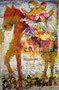 Salvator Mundi, technique mixte sur toile,  146 x 97 cm, 2013