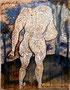 Dialogo, technique mixte sur toile, 65 x 50 cm, 2011