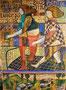 L'Ange du soir, technique mixte sur toile, 116 x 81 cm