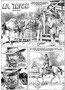 Lanciostory 38. # 24.09.79 / Traces (Orme), (+ Ambrosio), s.d. Traduction française : (La Trace) dans la BD : (L'homme médecine) édition Dargaud. planche 1