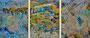 Oel auf Leinwand / 270 x 110 cm
