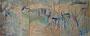 Komposition, 2016, 83 x 315 cm, Öl auf Leinwand