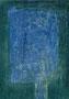 The Beautiful Healing Tree - Blu V, 2014, mixed media on canvas, 30 x 20 cm