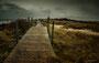 Helgoland - Düne - Steg am Nordstrand