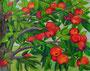 Apfelzweig,Aquarellstift laviert,24x30,2012