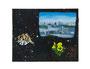 記憶のかけら 2012/木製パネルにキャンバス、印刷物、アクリル、顔料、ジェッソ、メディウム、他 /221×275×22 mm