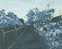 記憶のかけら_夕焼け/ 2014 / キャンバス、アクリル、ジェッソ、メディウム / 220×273 mm