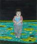 小さな声#2 2012/木製パネルにキャンバス、アクリル、ジェッソ、メディウム /727×605×25 mm