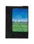 記憶のかけら_車窓 2012/ 木製パネルにキャンバス、印刷物、アクリル、顔料、ジェッソ、メディウム、他 /210×150×22 mm