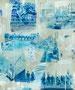スクラップブックのような絵画#20 / 2014 / キャンバス、アクリル、ジェッソ、メディウム / 727×606 mm