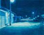 記憶のかけら_夜道 / 2014 / キャンバス、アクリル、ジェッソ、メディウム / 220×273 mm