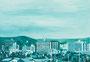 記憶のかけら_車窓 / 2014 / キャンバス、アクリル、ジェッソ、メディウム / 158×227 mm