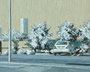 記憶のかけら_駐車場 / 2014 / キャンバス、アクリル、メディウム / 220×273 mm