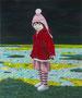 小さな声#4 2012/木製パネルにキャンバス、アクリル、ジェッソ、メディウム /727×605×25 mm