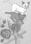「小説現代 11月号」(其の二)栗の実をたっぷり描きました。