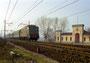 69 – E 424.014 Costruttore: Breda, Anno 1946 Località:Sarmato (PC), 6 febbraio 1995 Foto: Giorgio Stagni