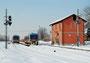 77 - ALn 72422 067 e 072 Costruttore: Fiat Ferroviaria Anno: 1996 Località: Bosco (RE) 3 febbraio 2012 Foto: Enrico Moreni