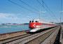 """35 - ETR.450 """"Pendolino"""" (treno 11) Costruttore: Savigliano-Ansaldo Anno: 1989 Ancona"""
