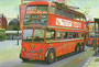 TrolleyBuses London Transport  Ilford BDY