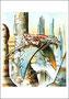 """© Joseph Viglioglia - """"Pinocchio in volo verso il mare"""""""