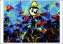"""© Angelo Ribezzi - """"Pinocchio scopre le meravigle del mondo sommerso"""""""