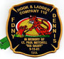 "FDNY Hook & Ladder Company 110 ""Lt. Paul Mitchell"""