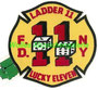 "FDNY Ladder 11 ""Lucky Eleven"""