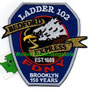 "FDNY Ladder 102  ""150 years"""