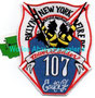 "FDNY Tower Ladder 107 ""East N.Y."""