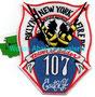 "FDNY Tower Ladder 107 ""East N.Y."""