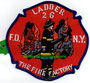 "FDNY Ladder 26 ""The Fire Factory"""