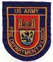 US Army Fire Department Vilseck