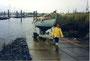 1992 Ventadour à sa remise à l'eau, Hambourg . Coll. Le Rallier