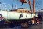1992 Sortie d'eau et carénage, la Rochelle . Coll. Le Rallier
