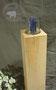 Säulenkerzenständer aus Ahornholz mit natütlichen Fehlern