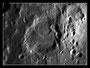 Krater Catharina am 01.05.2009, Celestron C9.25 (CG-5GT), DMKAU04.AS, 2x Barlowlinse, 200 aus 2000 Bilder (640x480), s/w