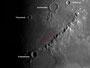 Krater Archimedes, Eratosthenes & Montes Apenninus am 01.06.2009, Celestron C9.25 (CG-5GT), ALCCD5, 1000 Bilder (1280x1024), Ausschnitt, s/w