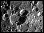 Krater Gemma Frisius und Goodacre am 01.05.2009, Celestron C9.25 (CG-5GT), DMKAU04.AS, 2x Barlowlinse, 200 aus 2000 Bilder (640x480), s/w