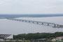 А это уже «старый» мост, который долгое время был источником пробок при связи между двумя половинками Ульяновска