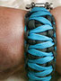Andrea mit KingLuy Paracord Armband