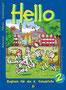 """""""Hello 2"""" Englischbuch für die Volksschule (1999) - Veritas Verlag, Linz"""
