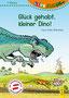 """""""Glück gehabt, kleiner Dino!"""", Titelseite (2017) - G&G Verlag, Wien"""